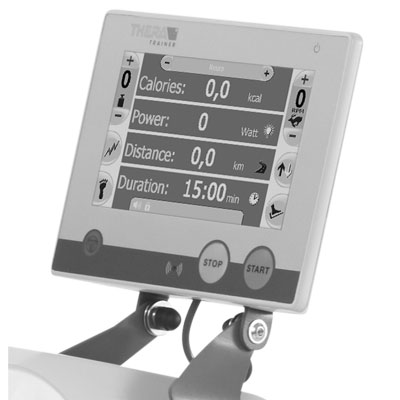"Control and display unit 7"" incl. touch function (155 x 86 mm)"